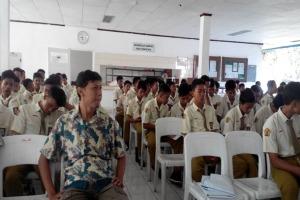 peserta kunjungan industri PT. Yanmar Pasuruan