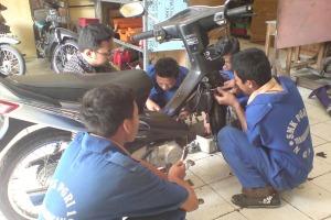 servis motor